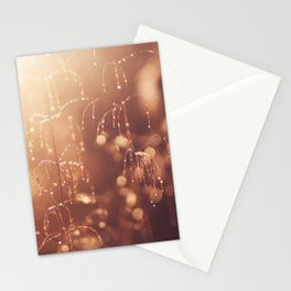 wake up in the garden Stationery Cards
