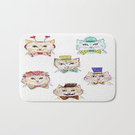 Kitties Galore Bath Mat