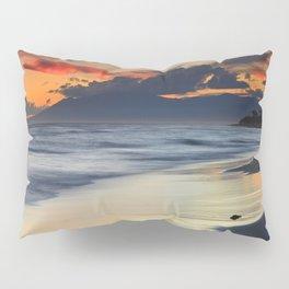 Magic red clouds. Sea dreams Pillow Sham
