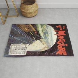 Vintage poster - Lake Maggiore Rug
