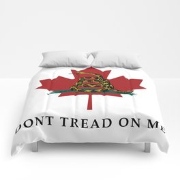 Dont Tread On Me Comforters