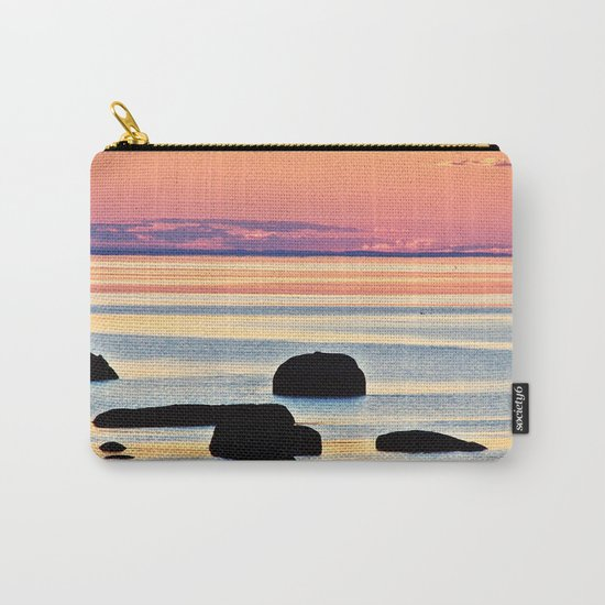 Painted Seas at Dusk Carry-All Pouch
