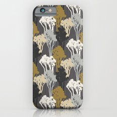 Arboreal Silhouettes - Golds & Silvers Slim Case iPhone 6s