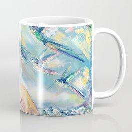 Alpine hummingbirds Coffee Mug