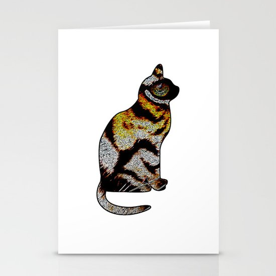 CAT TIGER Stationery Cards