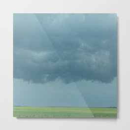 Storm Clouds // Landscape Photography Metal Print