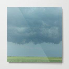 Storm Clouds // Landscape Photography Metal Print