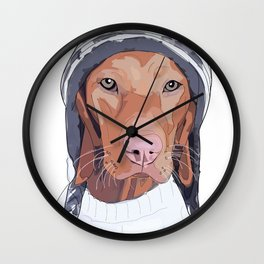 Vizsla Dog Wall Clock