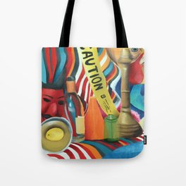 Colorful Still Life Tote Bag