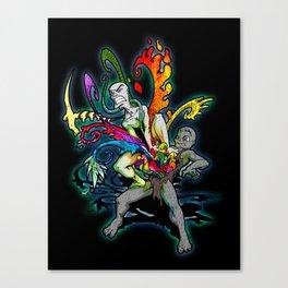 The Creativity Inside (Black) Canvas Print