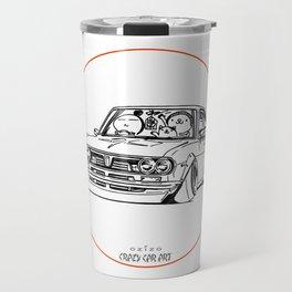 Crazy Car Art 0187 Travel Mug