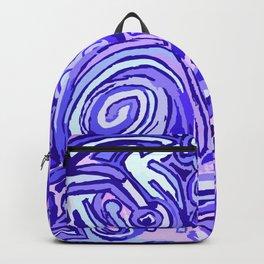 Violet Symbols Backpack