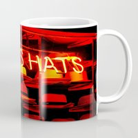 hats Mugs featuring Men's Hats by Wanker & Wanker