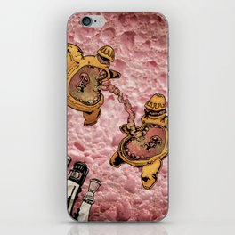 One Thousand Pardons: TummyBuddies: Psychic Warriors Connected by their Bellies iPhone Skin