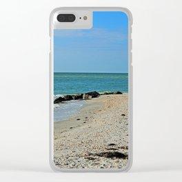Serene Serendipity Clear iPhone Case