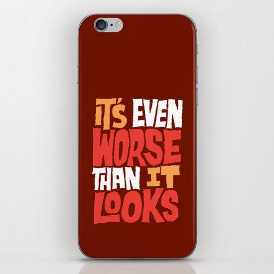 Even Worse iPhone & iPod Skin