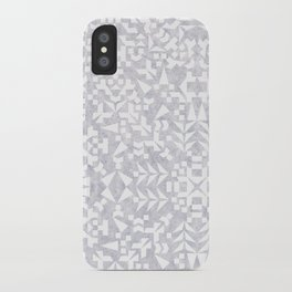 Makai Geo White iPhone Case