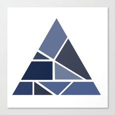 Triangle puzzle Canvas Print