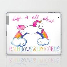 Rainbow Unicorn Laptop & iPad Skin