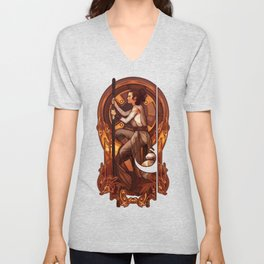 The Girl from Jakku Unisex V-Neck