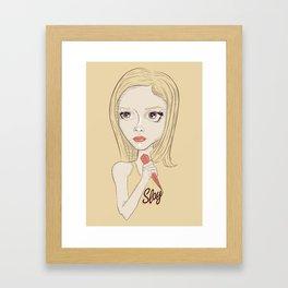 Buffy Framed Art Print
