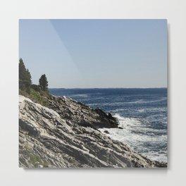 Maine Shore Metal Print