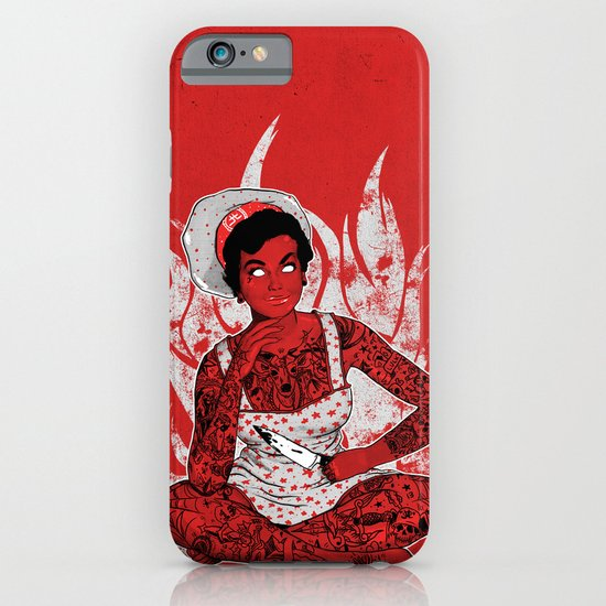 Housewife From Hell iPhone & iPod Case