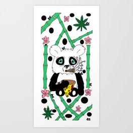 panda boo Art Print