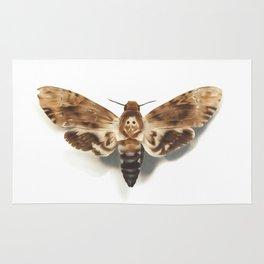 Death Head Hawk Moth Rug