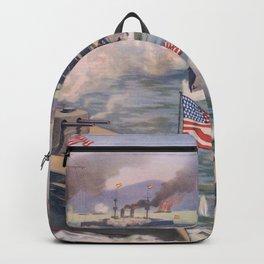 Cuban coast Backpack