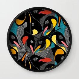 Penquins Wall Clock