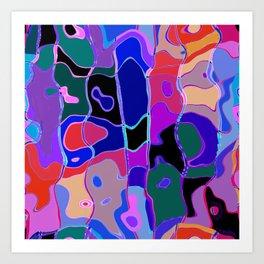 Color Puzzle 1 Art Print