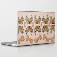 yorkie Laptop & iPad Skins featuring New Yorkie by Brianna Heyer