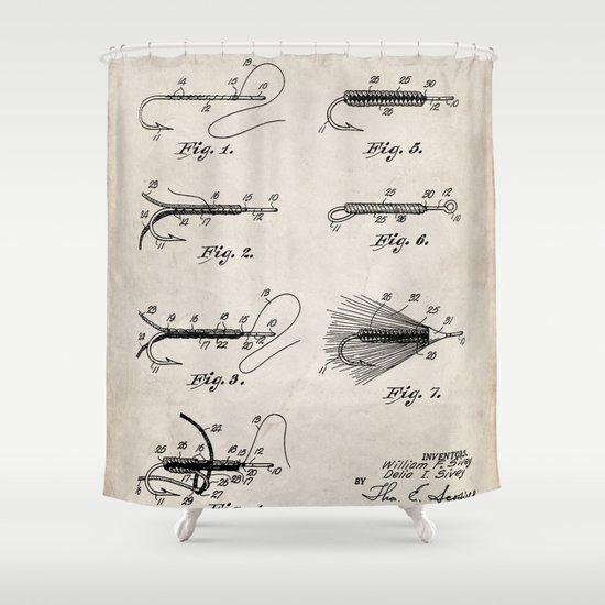 Fly Fishing Patent - Fisherman Art - Antique by patentpress