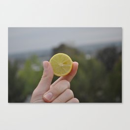 """Sour"" Canvas Print"