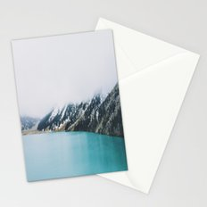 Turquoise water Stationery Cards