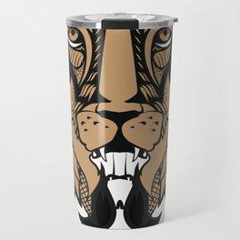 "Cecil The Lion ""Stupid Hunt"" Travel Mug"