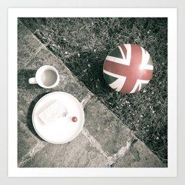 British Sunday | Still Life 88B Art Print