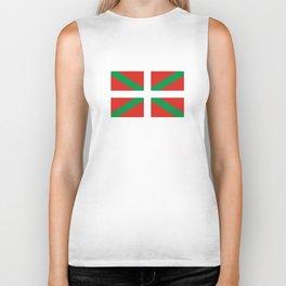 basque people ethnic flag spain Biker Tank