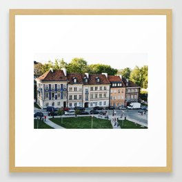 Old Town Warsaw Framed Art Print