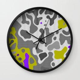 Camo 126 Wall Clock