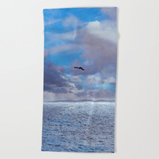 Pastel vibes 42 - El vuelo II Beach Towel