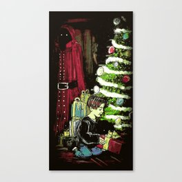 With a Ribbon on Top - Illustration Canvas Print