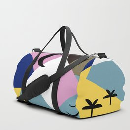 Sunset Landscape Duffle Bag