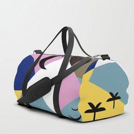 Sunset Landscape Duffle Bag