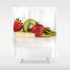 Exotic fruit Shower Curtain