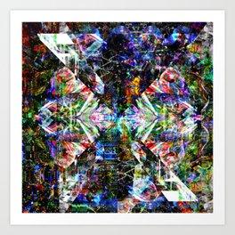 20141018215508-Glitch2-Mix-X2 Art Print