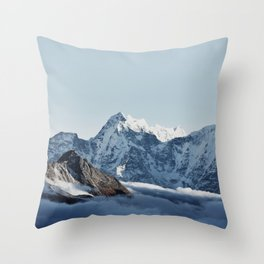 Himalaya Mountains IV Throw Pillow
