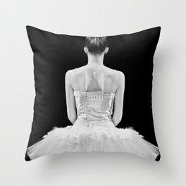 ballarina Throw Pillow