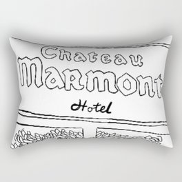 Chateau Marmont Sign Rectangular Pillow